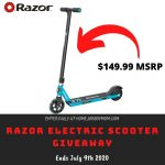 Razor Electric Scooter Giveaway