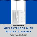 WiFi Extender With Router Giveaway 2