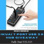 ikuai 7 Port USB 3.0 Hub Giveaway