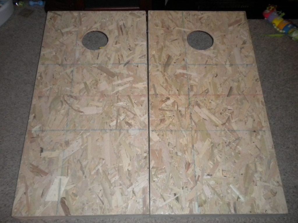 Cornhole Boards Unpainted