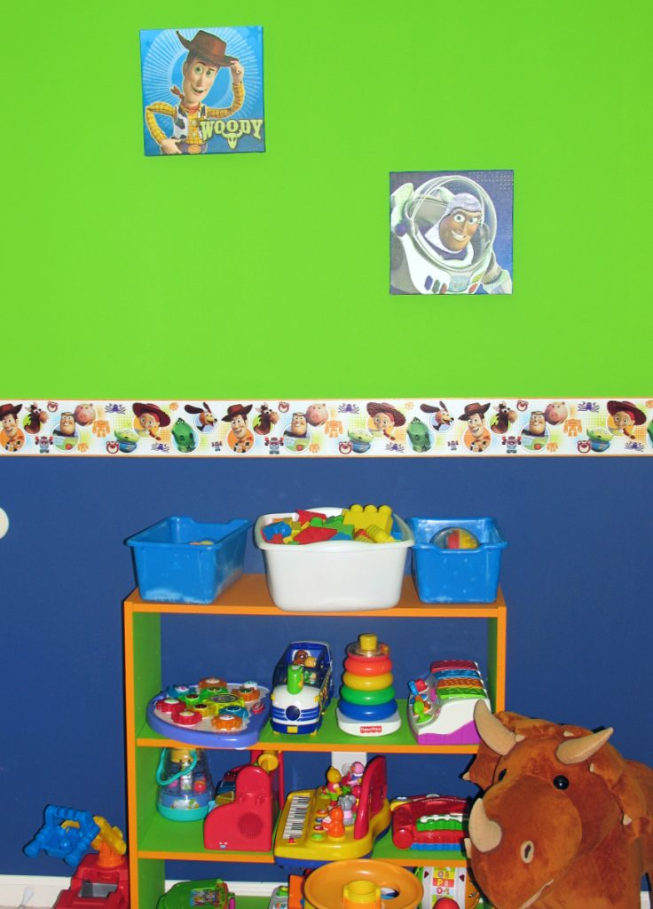 toddle boy room